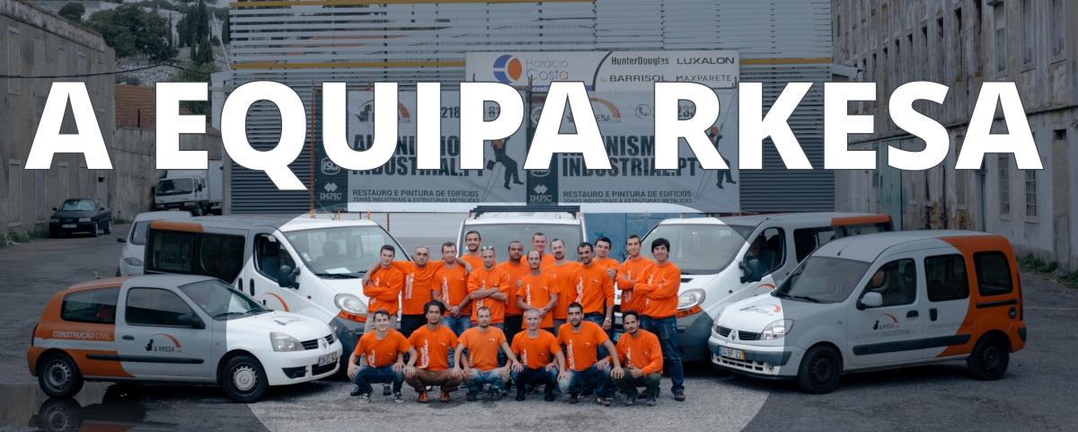 Equipa Alpinismo Industrial