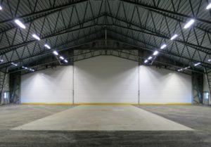 Restauro e pintura de hangares